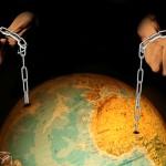 Obama's chains/ Las cadenas de Obama. María de las Cadenas. La cartelera. 2008