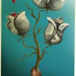 Money grows with blood/ El dinero crece con sangre. José María Tortosa. Diario Información. 2014