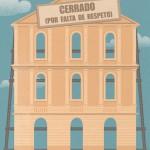 Theatre closed (for lack of respect)/ Teatro cerrado (por falta de respeto). Pilar Garcés. Diario de Mallorca. 2015